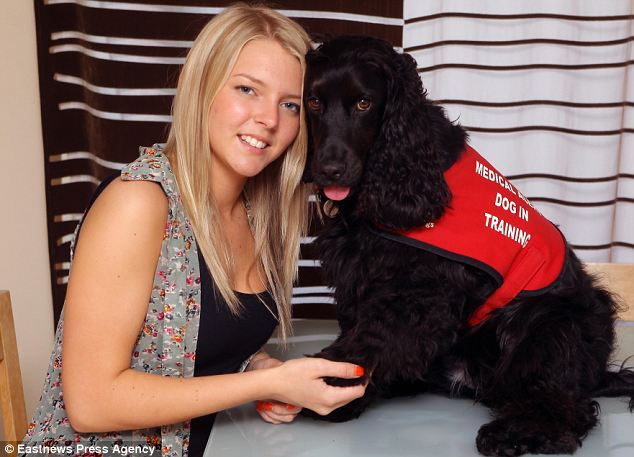 -off dog: Teenage girl who falls asleep at any time woken by her ...